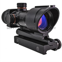 ACOG red dot rifle scope hunting scope airsoft 1x32 Red dot scope