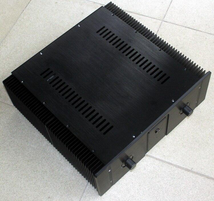 WA20 aluminium après le boîtier d'ampli de qualité pure préamp DAC châssis de boîte (classe A)