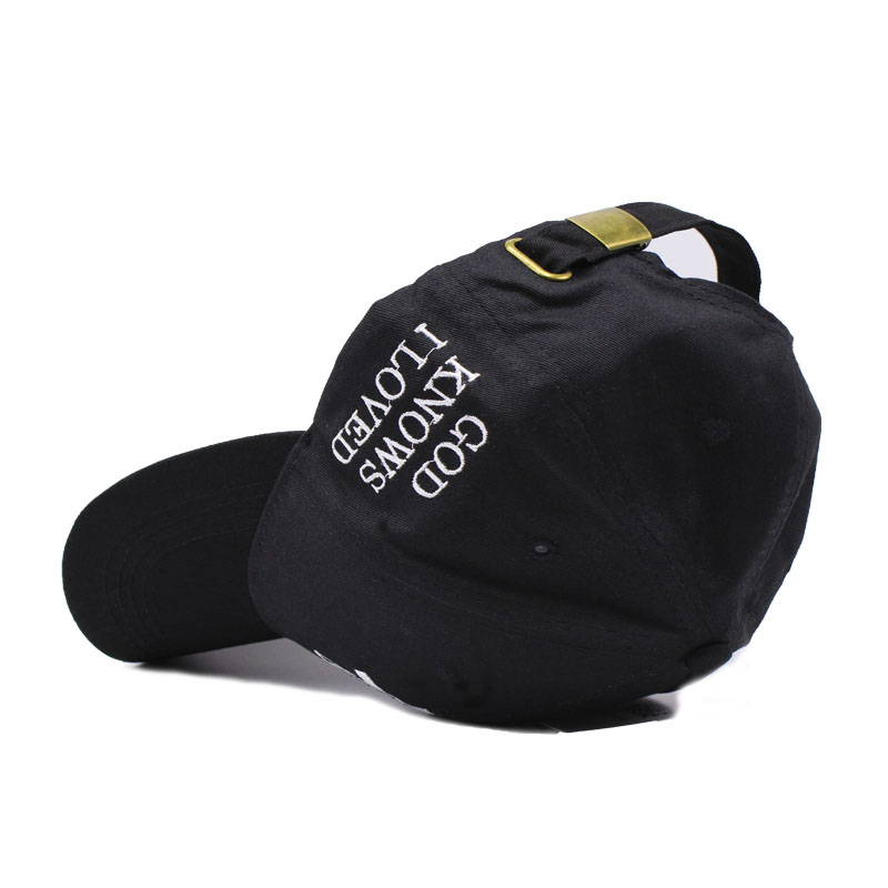 672fc11df33 LIBERWOOD Jesus pray baseball caps Christian Holy Cross Faith Jesus cap hat  GOD KNOWS I LOVED snapback hats cap for men hip hop-in Baseball Caps from  ...