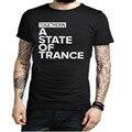 Armin Van Buuren Together In A State of Trance Letter Print T Shirt Popular Music DJ T-shirt Cotton Short Sleeve Mens Tshirt