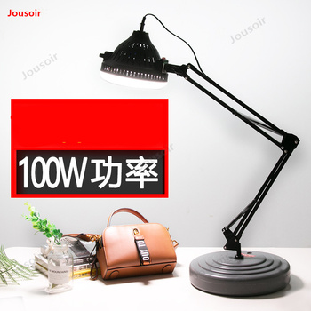 Photography LED Light 100W LED Selfie Lamp Studio Photography Photo Lighting Fill Light Flexible Swing Arm Table Lamp CD50 T03Y