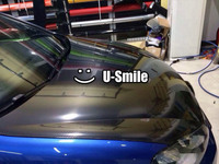 Премиум высокая глянцевая черная 5D углеродное волокно виниловая наклейка покрытие на автомобиль пузырь бесплатно для автомобиля обертыва