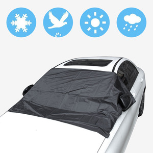 Image 3 - Car Sunshade With Magnet To Avoid Sunlight Rain Ice  Snow Protection Front Windshield With Storage Bag
