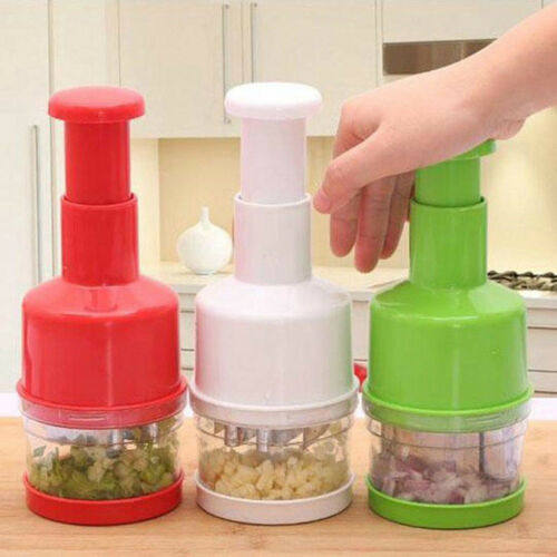 Chopper Pressing Cutter - Vegetable Food Onion Garlic Slicer Peeler Dicer Mincer