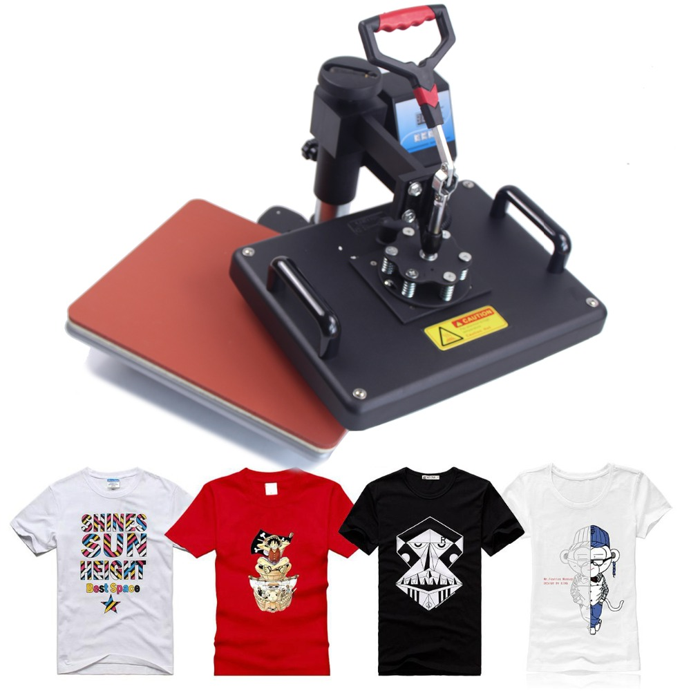 5 in 1 sublimation heat transfer machine for Mug Plate T shirt Hat printing DX 035