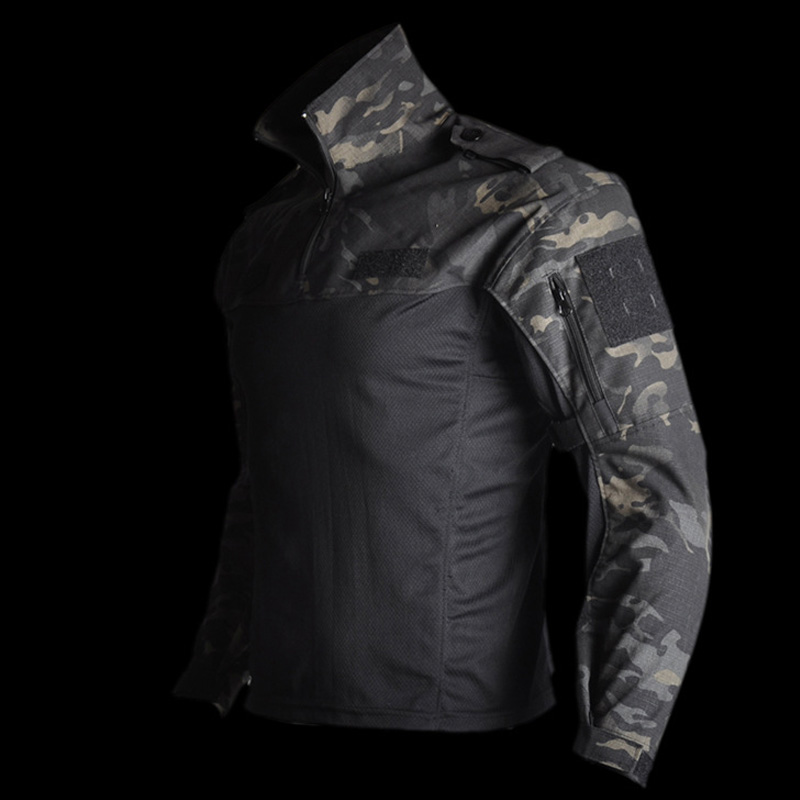 Mege Tactical Military Equipment Combat Shirt Camouflage Multicam Black Men Women Tactical Shirt Airsoft CS Go Clothing Typhon