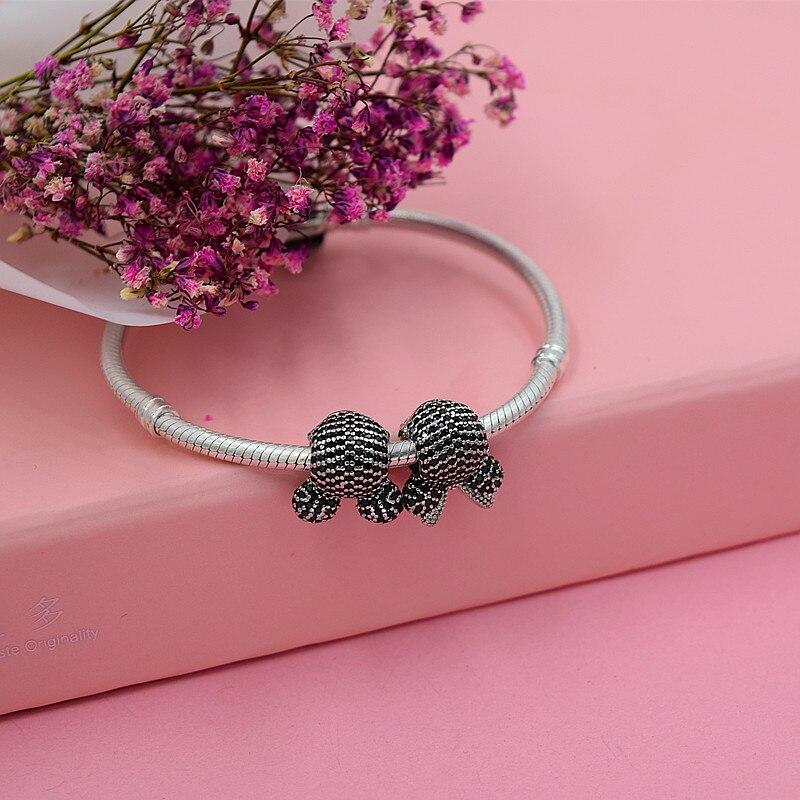 YANXIZAO caliente 925 de plata Europea Charm Beads Fit Pandora Estilo - Bisutería - foto 4
