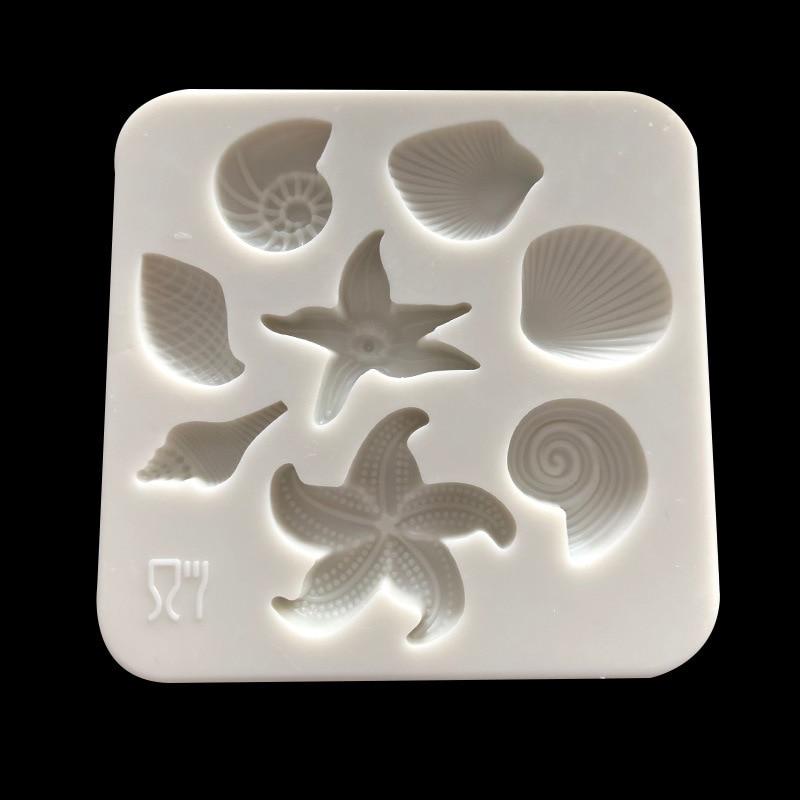 Anchor concrete mold sea ocean plaster plastic mould