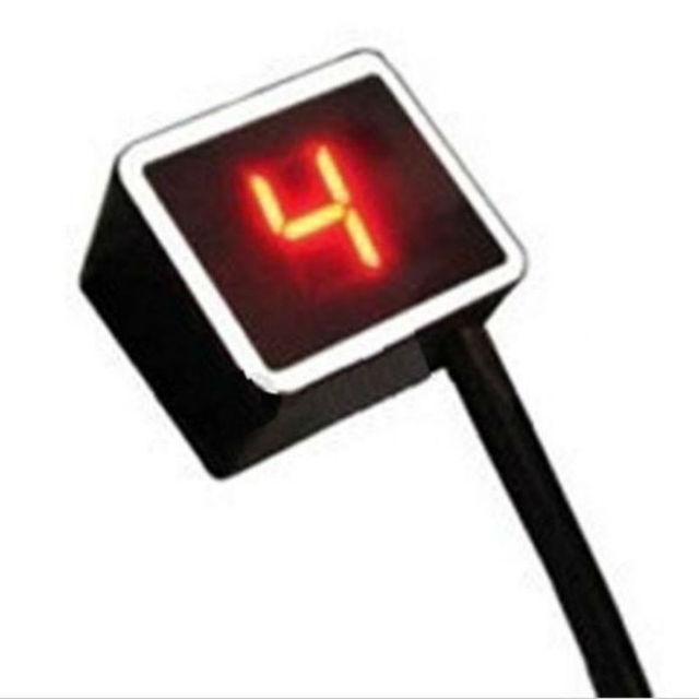 Red Light LED Universal Digital Gear Indicator Motorcycle Display Shift Lever Sensor