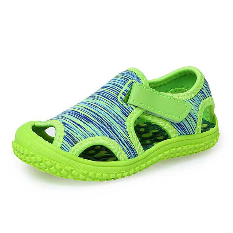 New Children Camouflage Soft Sandals Summer Girls Toe Protect Baby Shoes Boys Soft Bottom Non-slip Fashion Sports Beach Shoes