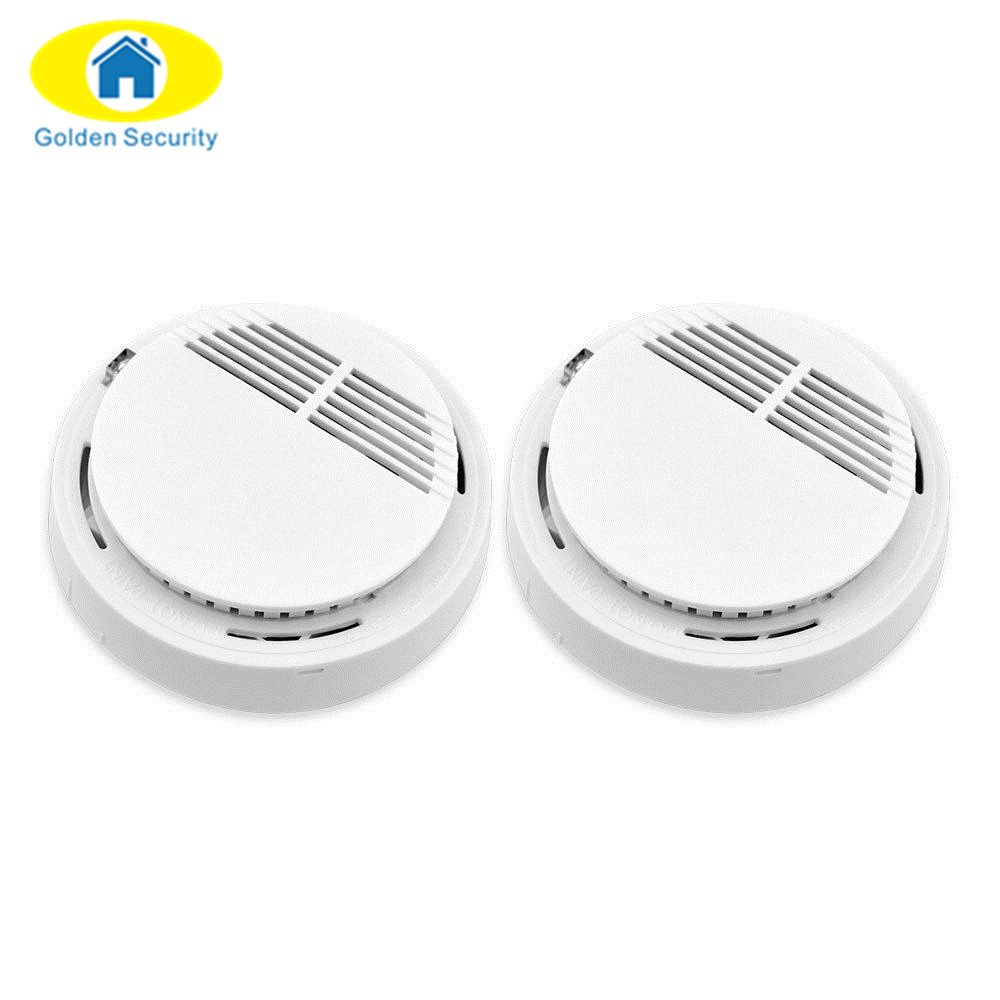 Golden Security New 433mhz Sensor Sensitive Photoelectric Home Security System Cordless Wireless Smoke Detector Fire Alarm hot home security photoelectric cordless smoke detector fire sensor alarm white