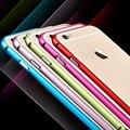 I6 capa ultra fino para apple iphone 6 bumper de alumínio de luxo de metal telefone celular casos capa protetora para iphone 6 4.7 ''fundas