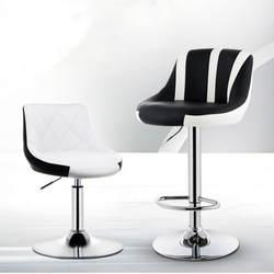 10% Европейский барный стул Лифт вращающийся барный кассовый аппарат высокий стул Главная красота спереди и сзади
