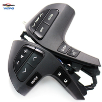 Free Shipping NEW Black Auto Steering Wheel Audio Control Button Switch For TOYOTA HIGHLANDER 84250 0E220