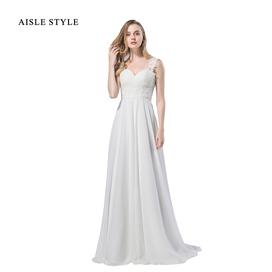 Real Simple Weddings 2017: Backless Wedding Dress 2017 Simple Vintage Lace Bodice A