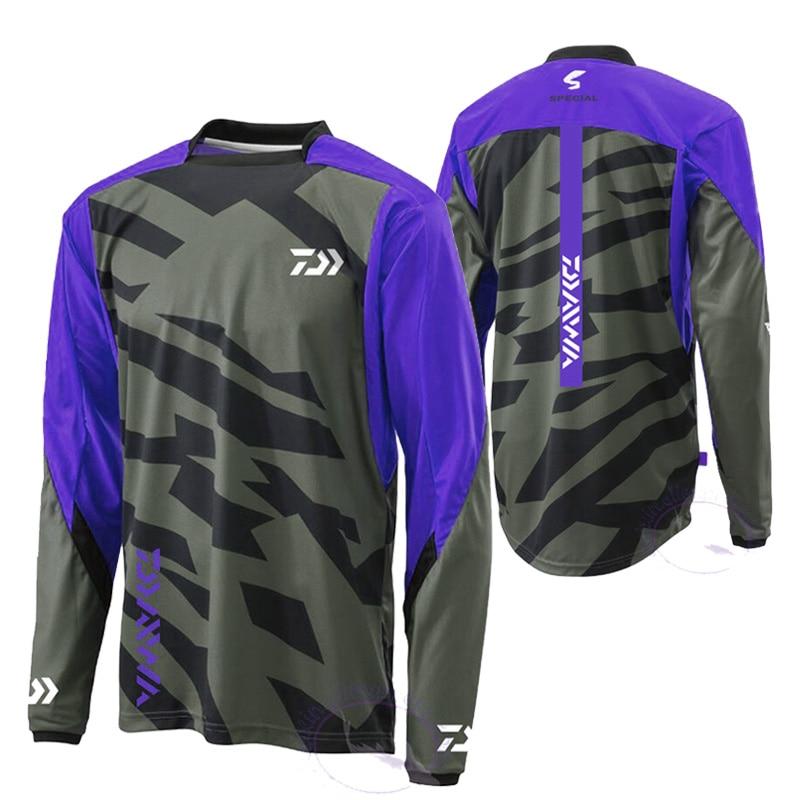 2019 primavera ciclismo pesca jerseys anti-mosquito roupas de pesca manga longa anti-uv outono camisa secagem rápida pesca esportiva