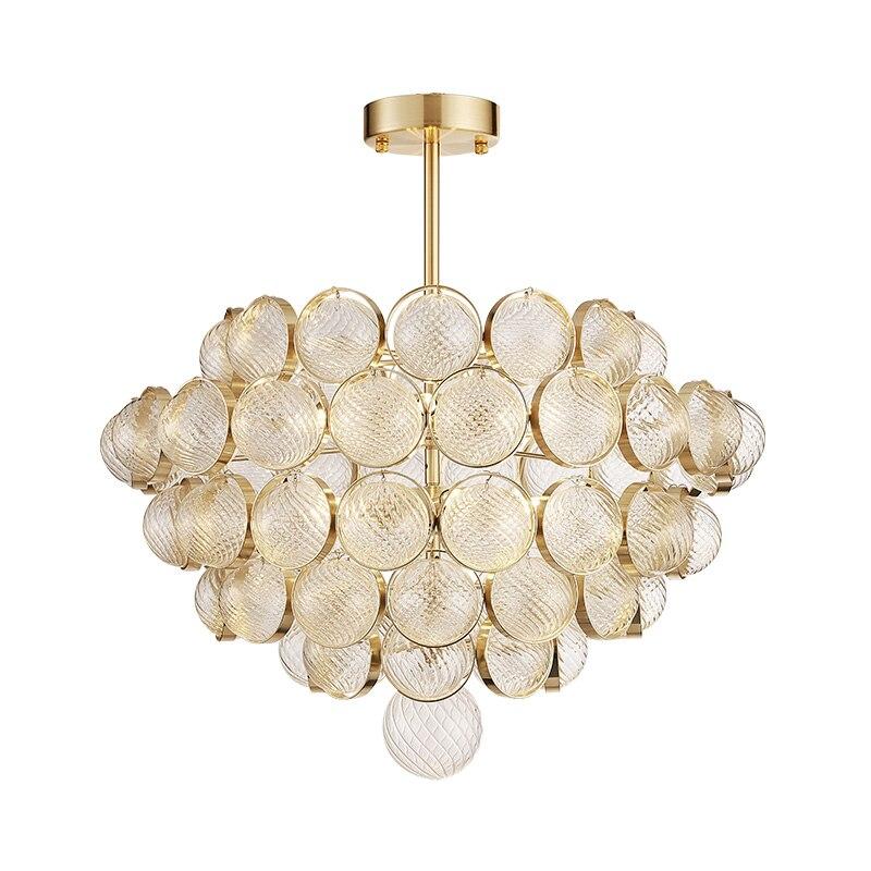 Modern creative Pendant light hand made glass Cracked lampshade E14 LED lamp droplight Living room shop Cafe Bar free shipping