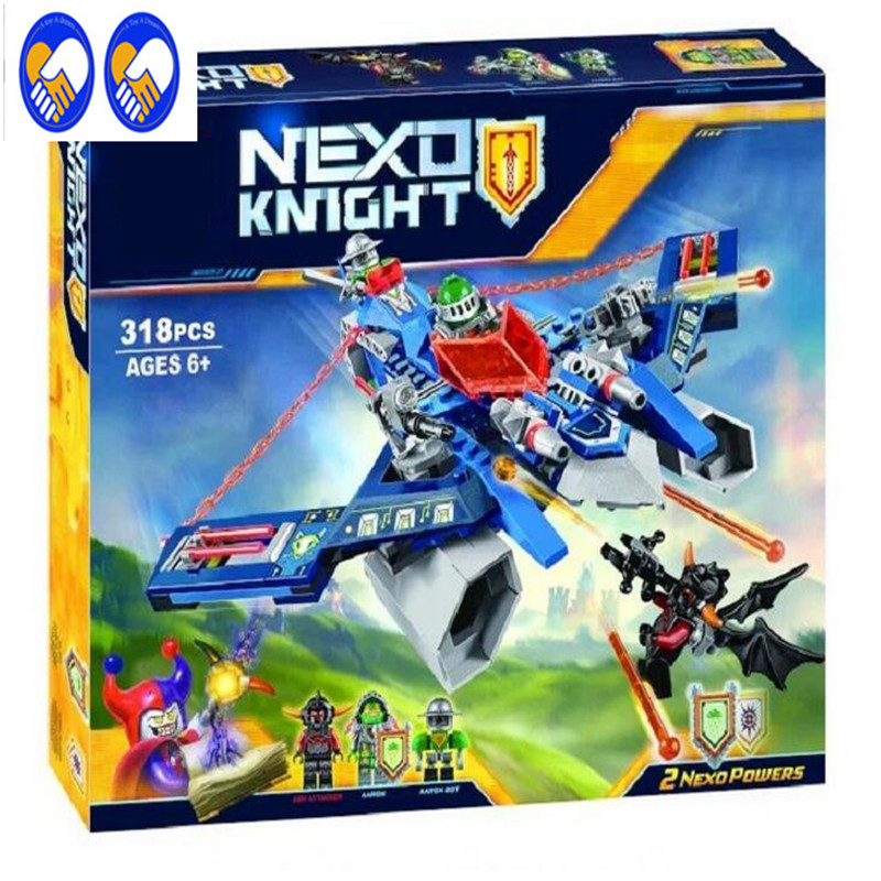 A Toy A Dream BELA 10517 Building Blocks Aaron's hit giant crossbow Buildable Compatible With Lepin toys Nexus Knight children s toy crossbow with infrared white army green