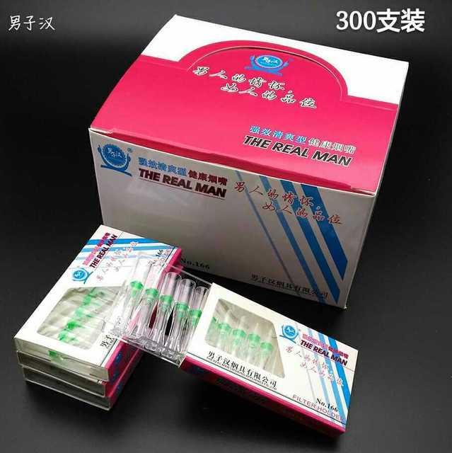 MINI filtros de cigarrillo desechables para mujer, 52mm, paquete económico a granel de cigarrillos delgados para mujer (300 por paquete) N166