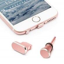 Один комплект противопылевые Заглушки для iPhone 8 зарядки порты и разъёмы Plug& 3,5 мм разъем наушников с чехол для Apple iPhone 8 Plus 7 X iPhone 6s 6