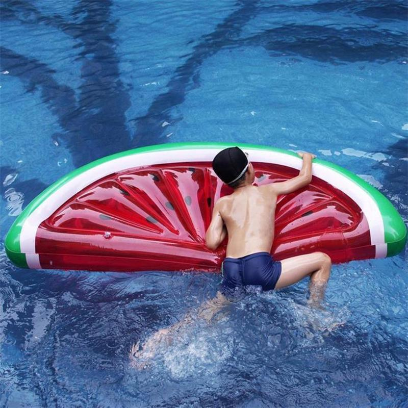 Floating Inflatable Summer Swimming Pool Ring Circle Island Cool Water Party Toy Swim Ring Seat Boat Sport in Swimming Rings from Sports Entertainment