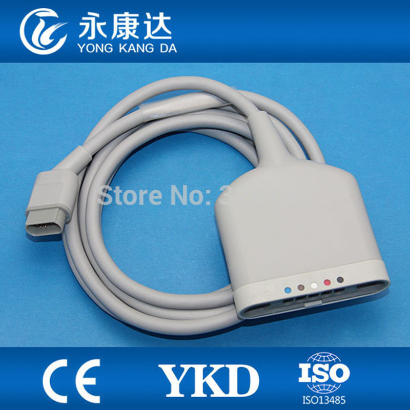 Free Shipping For SC6000 SX9000 SX9000XL 5-lead Multi-link ECG Cable AHA/ IECFree Shipping For SC6000 SX9000 SX9000XL 5-lead Multi-link ECG Cable AHA/ IEC