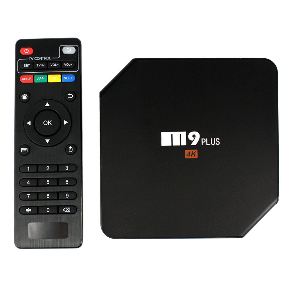 M9 Plus Android 5.1 TV Box Amlogic S905 64bit Quad core XBMC 4K 2.4 G/5GHz Dual2GB/16GB WIFI Bluetooth4.0 DLNA KODI Airplay m8 fully loaded xbmc amlogic s802 android tv box quad core 2g 8g mali450 4k 2 4g 5g dual wifi pre installed apk add ons