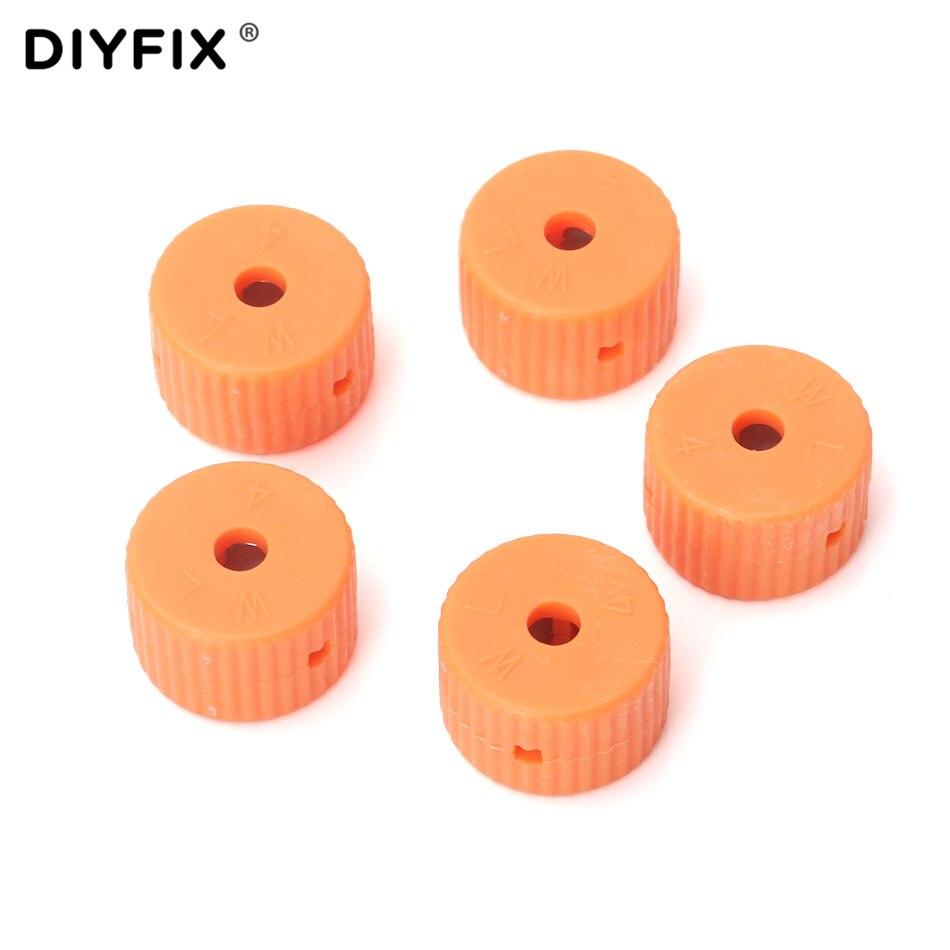 DIYFIX 5Pcs 4mm Mini Magnetizer Ring Magnetic Pick Up Tool For Screwdriver Bits