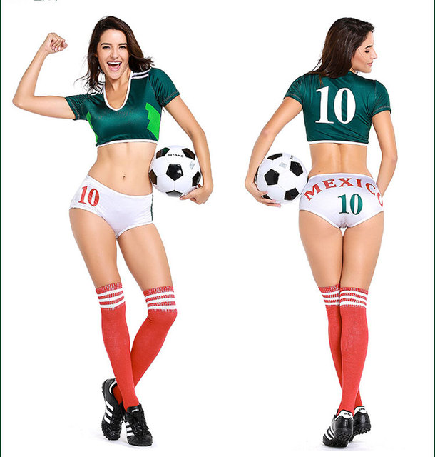 Sexy soccer lingere