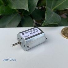 FF-130SH-8Z605 DC игрушка Микро Мотор 12 В 24 в низкое энергопотребление тихий плоский микро мотор USB маленький вал двигателя диаметр 2 мм