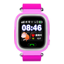 GPS/GSM Tracker Watch for Kids Children G72 for Android IOS SOS Fitness Tracking Sleep Tracker Pedometer Touch Push-Button b4(China)