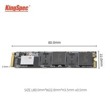 Высокая емкость SSD KingSpec 512 ГБ ТБ m2 2242 2280 nvme pcie SSD внутренний жесткий диск hdd для ноутбука Настольный игровой ПК