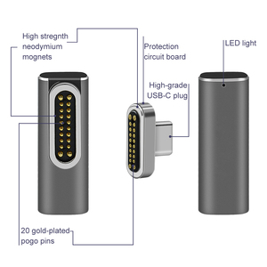 Image 2 - Magnetic USB C Adapter,Type C  Type C USB 3.1 VeIDI 4 K @ 60 Hz High Resolution   Supports High Speed Magnet USB C Date Adapter