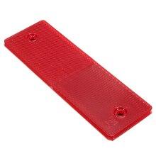 Placa de advertência Reflexivo Segurança/Fita Refletor Adesivos Para Caminhão Do Carro, vermelho com furo