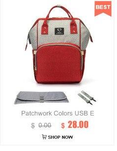 HTB1arMPcBiE3KVjSZFMq6zQhVXaQ Diaper Bag With USB Interface Large Capacity Travel Backpack Nursing Handbag Waterproof Nappy Bag Kits Mummy Maternity Baby Bag