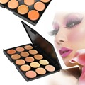 Natural Professional Concealer Palette 15 Colors makeup Foundation Facial Face Cream Palettes Cosmetic make up color