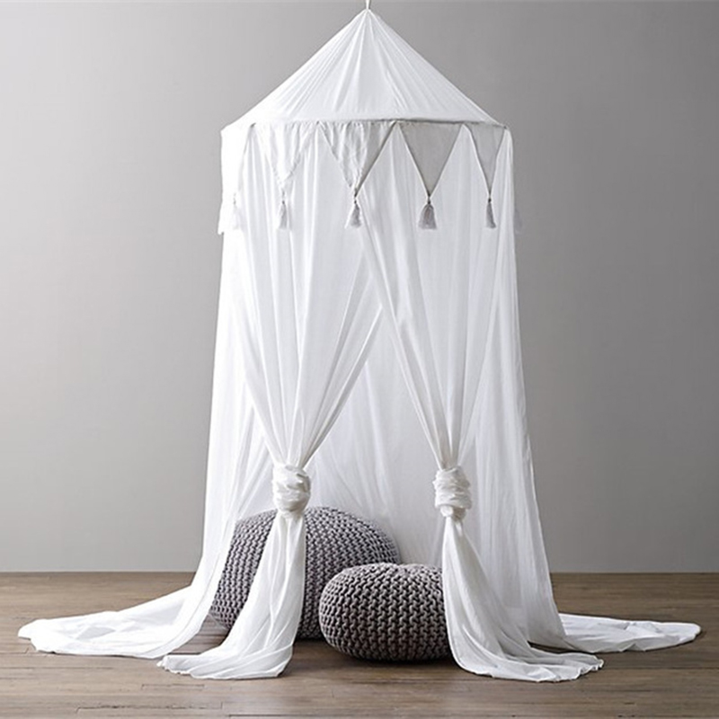Baby Crib Bed Canopy Four door Baby Mosquito Net 2018 Baby Bed Curtain Children Crib Netting Baby Room Decoration