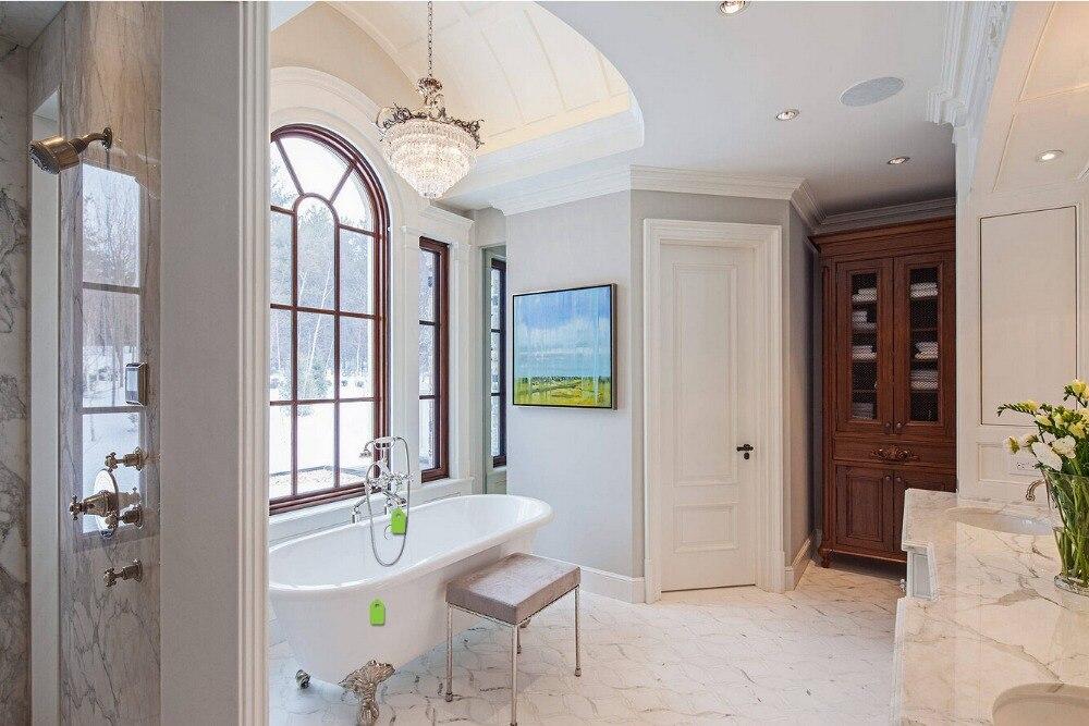 2017 offre spéciale très durable shaker style profilés carrés en bois massif porte peinture grade intérieur porte en bois portes de placard ID1606008