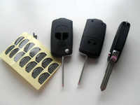 2 Buttons Modified Flip Folding Remote Key Shell Case Fob Cover For Suzuki Swift Fob Key Blank
