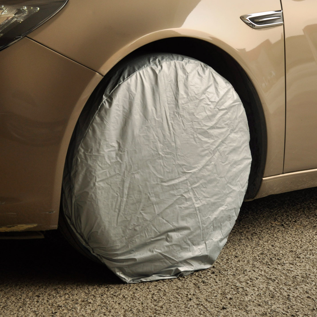 Beler 4X колеса шин Водонепроницаемый пыли Защитная крышка для VW Ford Audi Mazda Toyota Kia Chevrolet BMW Mercedes -Benz