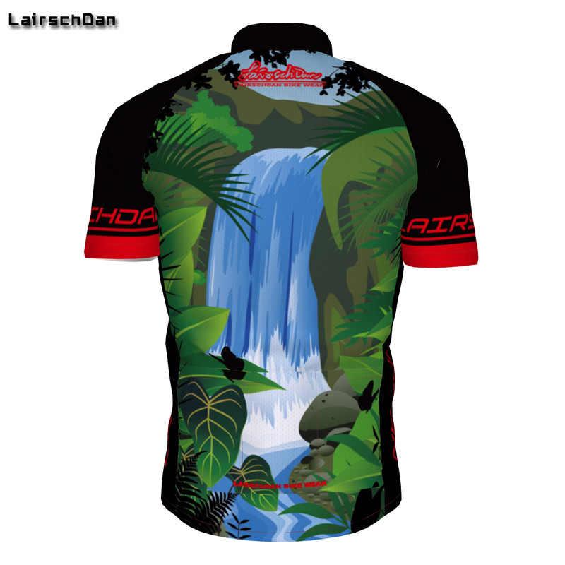 SPTGRVO Lairschdan Забавный 2019 зеленый короткий рукав Велоспорт Джерси Топы велосипедная рубашка Мужская/женская одежда для езды на горном велосипеде одежда для горного велосипеда