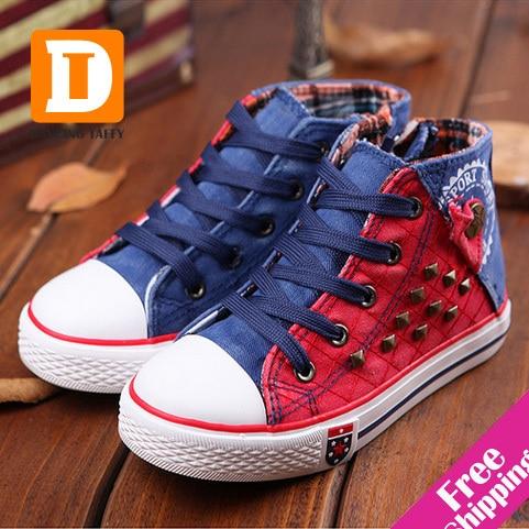 Aliexpress.com : Buy Fashion Rivet Kids Shoes New 2017 Breathable ...
