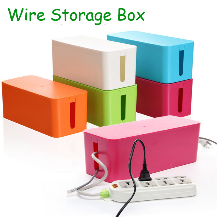 2016 ABS Material Wire Storage Box Cable Manager Organizer Box Power Line  Storage Cases Junction Box. Popular Material Storage Bins Buy Cheap Material Storage Bins lots