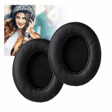 Protein Leather Replacement Parts Ear Cushion Pads Earpads Ear Cups for Studio 2.0 Wired / Studio 2.0 Wireless B0500
