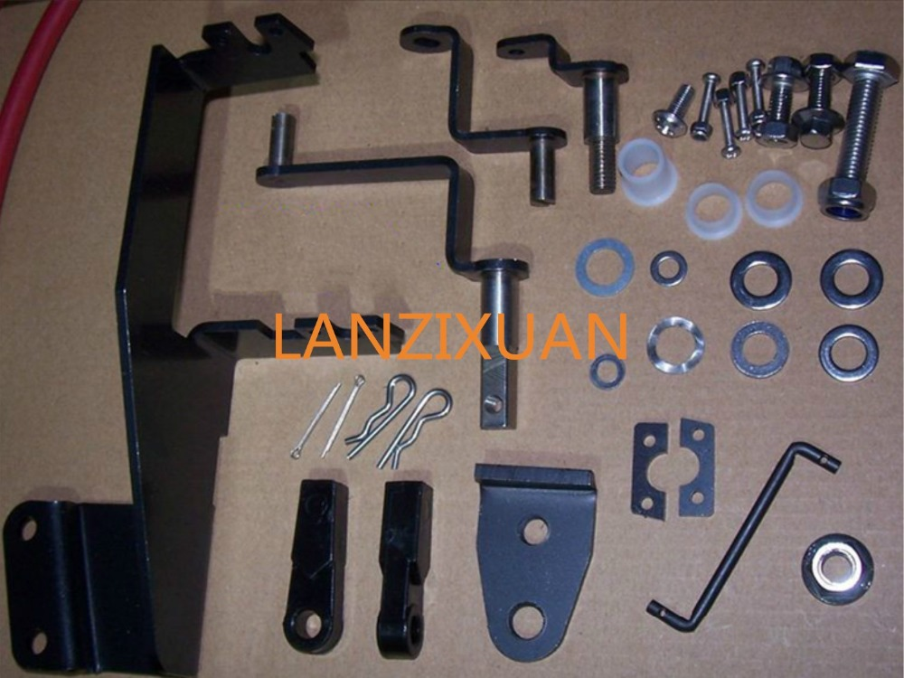 63V-48501-00 Remote Control Attachment Kit Replaces For Yamaha Parsun 9.9HP 15HP Outboard Engine