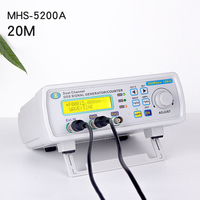 Kuaiqu 20MHz DDS Dual channel Function Signal Generator Arbitrary Waveform Generator 200MSa/s 12bits Frequency Meter hot saleing