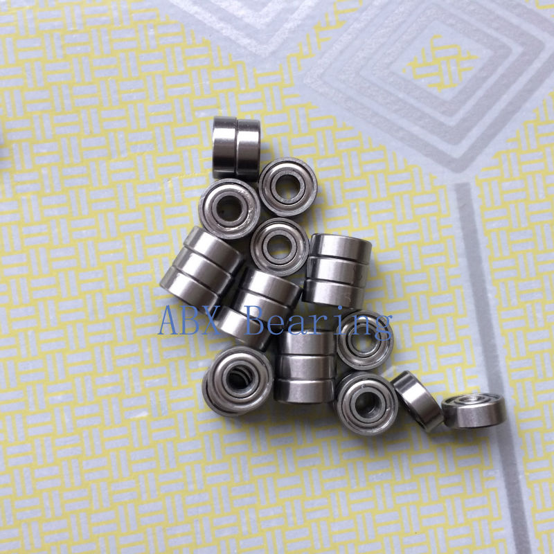 10 MR63ZZ 3x6x2.5mm P6 ABEC3 Deep Groove Ball Miniature Bearing  Gcr15