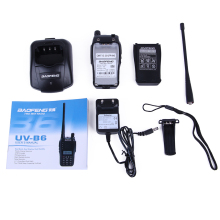 2PCS Baofeng UV-B6 Walkie Talkie radio comunicador Dual Band UHF&VHF walk talk radio UVB6 5W Professional walkie talkies