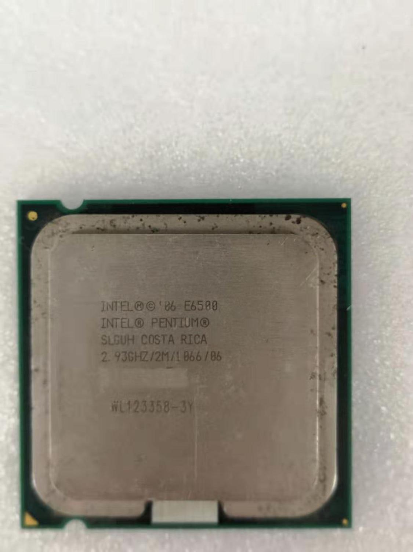Intel Core 2 Duo E6500 Desktop Processor Dual-Core 2.93GHz 2MB Cache FSB 1066MHz LGA 775 E 6500 Used CPU