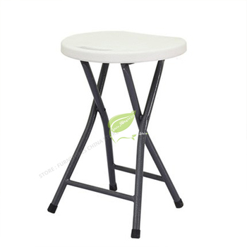 Multiple Colour Household Chair Concise Table High Round Bench Camp Stool Small The Bench Simple and Easy Portable Backrest